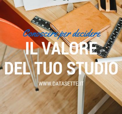 Sei consapevole del valore del tuo Studio?