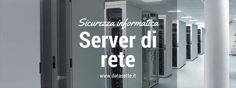 server di rete sicurezza informatica atc service